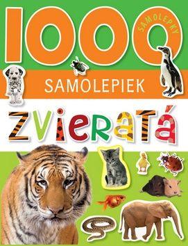 1000 samolepiek Zvieratá cena od 130 Kč