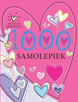 1000 samolepiek Mám rada srdiečka cena od 106 Kč