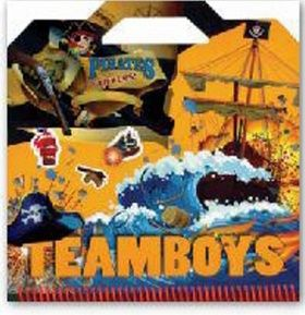 XXL obrazek TEAMBOYS Pirates Stickers!