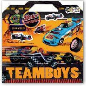 XXL obrazek Teamboys Motor Stickers!