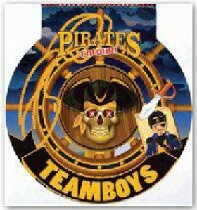 TEAMBOYS Pirates Colour! – kormidlo cena od 111 Kč