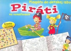 Piráti Plagáty do detskej izby na vymażovanie cena od 48 Kč