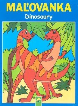 Maľovanka Dinosaury cena od 0 Kč