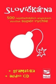 Ján Cibulka: Slovíčkárna - 500 nejdůležitějších anglických slovíček super rychle + CD cena od 258 Kč
