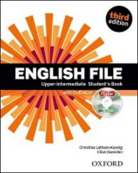 Christina Latham-Koenig, Clive Oxenden, Selingson: English File Third Edition Upper Intermediate Student´s Book with iTutor DVD-ROM - Christina Latham-Koenig cena od 430 Kč