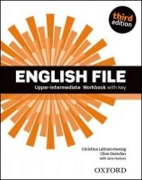 Latham Koenig, Clive Oxenden, J. Hudson: English File Third Edition Upper Intermediate Workbook with Answer Key cena od 246 Kč
