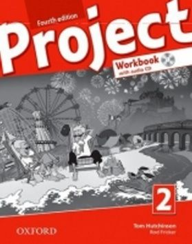 Tom Hutchinson: Project Fourth Edition 2 Workbook with Audio CD and Online Practice (International English Version) cena od 199 Kč