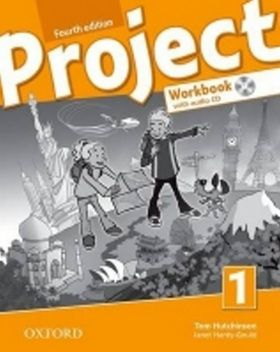 Tom Hutchinson: Project Fourth Edition 1 Workbook with Audio CD and Online Practice (International English Version) cena od 199 Kč