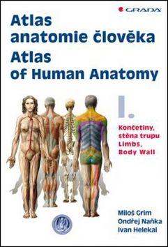Miloš Grim, Ondřej Naňka, Ivan Helekal: Atlas anatomie člověka 1. - Končetiny, stěna trupu cena od 828 Kč