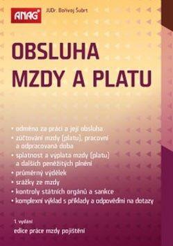 Bořivoj Šubrt: Obsluha mzdy a platu cena od 494 Kč