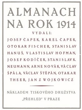 Erik Gilk: Almanach na rok 1914 cena od 109 Kč