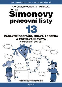 Eva Štanclová: Šimonovy pracovní listy 13 cena od 97 Kč