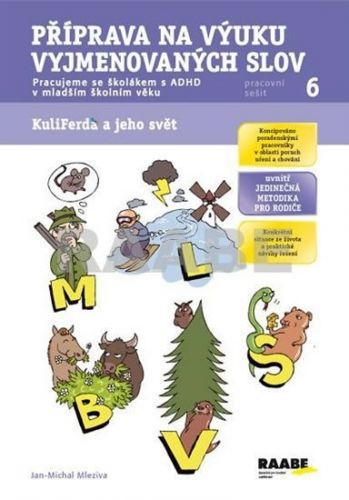 Jan-Michal Mleziva: Příprava na výuku vyjmenovaných slov - Pracovní sešit 6 cena od 58 Kč