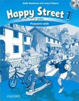 Stella Maidment, Lorena Roberts: Happy Street 1 - Pracovní sešit cena od 214 Kč