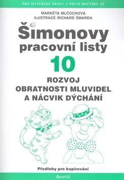 Markéta Mlčochová: Šimonovy pracovní listy 10 cena od 107 Kč