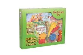 Kufřík Medvídek Pú Klokánek malý objevitel + dárky cena od 106 Kč