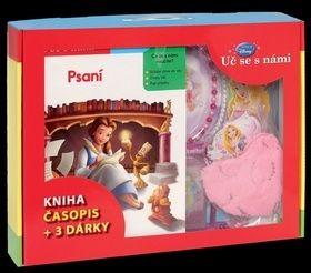 Walt Disney: Kufřík Uč se s námi - Psaní (kniha, časopis + 3 dárky pro princezny) cena od 104 Kč