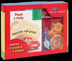 Walt Disney: Kufřík Uč se s námi - Psaní s Auty (kniha, časopis + 3 dárky) cena od 111 Kč
