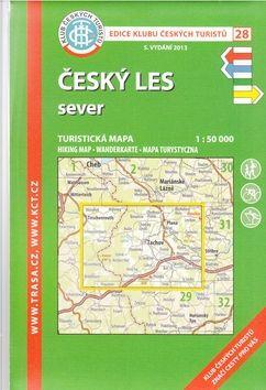 KČT 28 Český les sever cena od 89 Kč