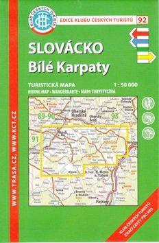 KČT 92 Slovácko, Bílé Karpaty cena od 85 Kč