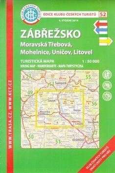 KČT 52 Zábřežsko Moravská Třebová, Mohelnice, Uničov, Litovel cena od 85 Kč