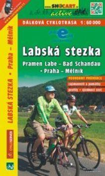 Labská stezka, Drážďany-Praha 1:60 000 cena od 95 Kč