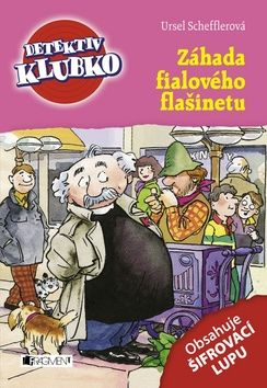 Schefflerová Ursel: Detektiv Klubko - Záhada fialového flašinetu cena od 117 Kč