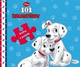 101 dalmatínov kniha s puzzle cena od 221 Kč