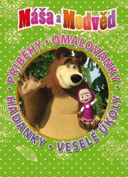 Walt Disney: Máša a medvěd - Knížka na celý rok cena od 199 Kč