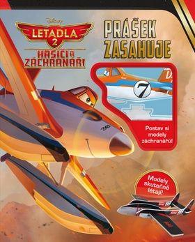 Walt Disney: Letadla 2 - Prášek zasahuje. Postav si modely cena od 129 Kč