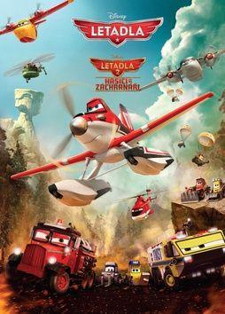 Walt Disney: Letadla 2 - Hasiči a záchranáři - Filmový příběh cena od 169 Kč
