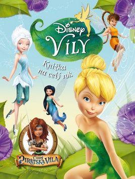 Walt Disney: Víly -  Knižka na celý rok cena od 216 Kč