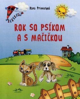 Hana Primusová: Rok so psíkom a mačičkou cena od 122 Kč