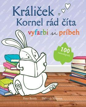Králiček Kornel rád číta - vyfarbi si príbeh cena od 115 Kč