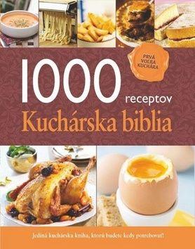 1000 receptov Kuchárska biblia cena od 331 Kč