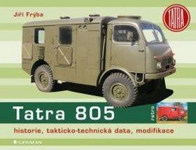 Jiří Frýba: Tatra 805 - historie, takticko–technická data, modifikace cena od 294 Kč