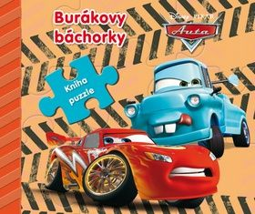 Walt Disney: Auta Burákovy báchorky - Kniha puzzle cena od 144 Kč