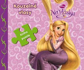 Walt Disney: Na vlásku Kouzelné vlasy - Kniha puzzle cena od 135 Kč