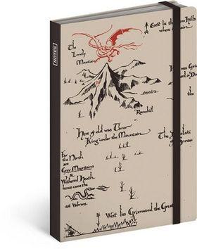 Hobbit krémová, notes 10,5 x 15,8 cm cena od 107 Kč