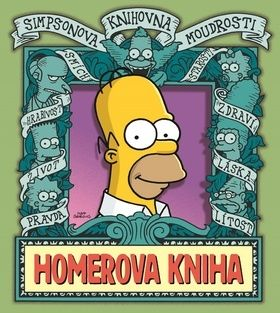 Matt Groening: Simpsonova knihovna moudrosti: Homerova kniha cena od 191 Kč
