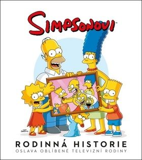 Matt Groening: Simpsonovi - Rodinná historie cena od 386 Kč