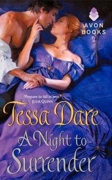 Dare Tessa: Noc odevzdání (Série Spindle Cove 1) cena od 178 Kč
