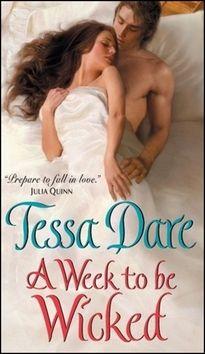 Tessa Dare: Týden hříchu cena od 0 Kč