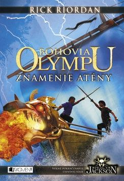 Rick Riordan: Bohovia Olympu Znamenie Atény cena od 271 Kč