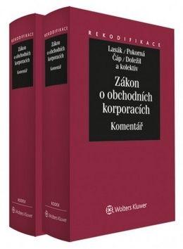 Jan Lasák, Jarmila Pokorná, Zdeněk Čáp, Tomáš Doležil: Zákon o obchodních korporacích cena od 2427 Kč