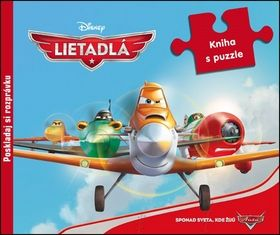 Lietadlá kniha s puzzle cena od 221 Kč