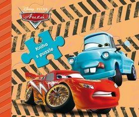 Autá kniha s puzzle cena od 188 Kč