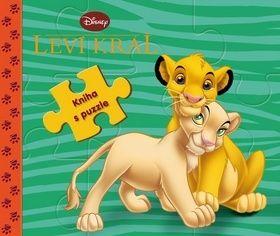 Leví kráż kniha s puzzle cena od 188 Kč