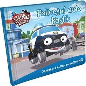 Elin Ferner: Policejní auto Pavlík - leporelo kniha Statečná autíčka cena od 66 Kč