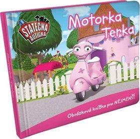 Elin Ferner: Motorka Terka - leporelo kniha Statečná autíčka cena od 64 Kč